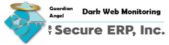 Guardian Angel Dark Web Monitoring by Secure ERP